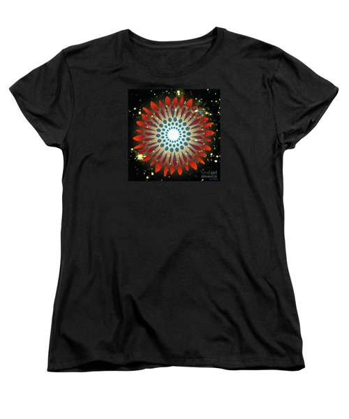 Women's T-Shirt (Standard Cut) featuring the digital art In The Beginning by Leanne Seymour