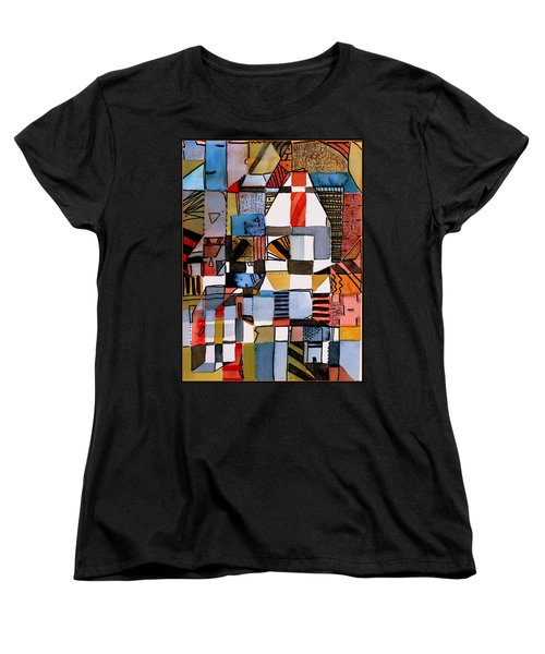 In The Dog House Women's T-Shirt (Standard Cut) by Mindy Newman