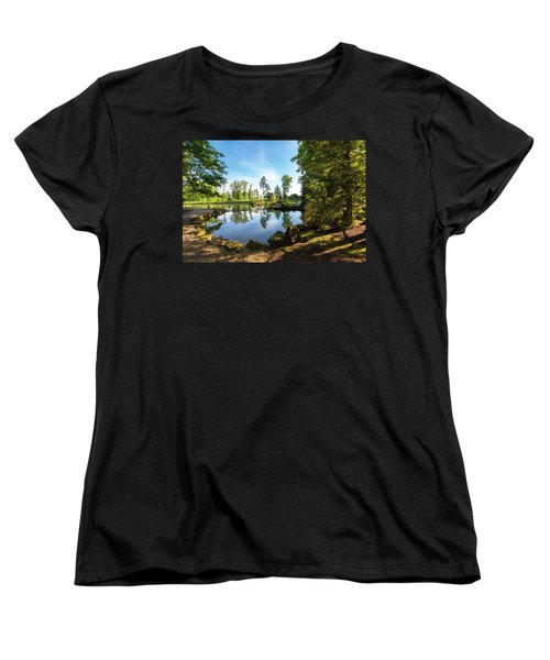 Women's T-Shirt (Standard Cut) featuring the photograph In The Early Morning Light by Tom Mc Nemar