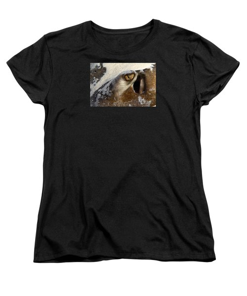 In The Sand Women's T-Shirt (Standard Cut) by Aaron Whittemore
