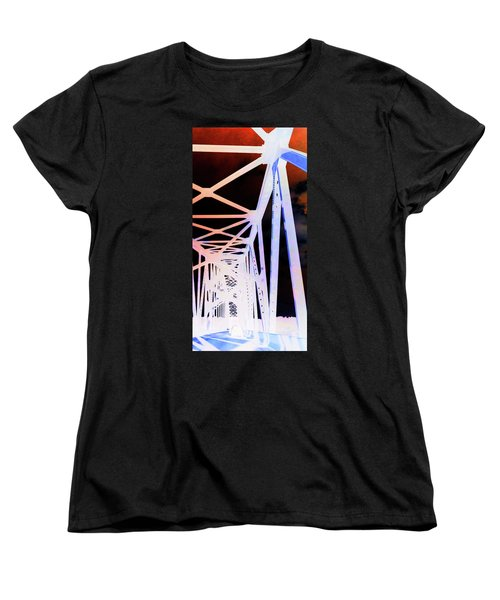 Women's T-Shirt (Standard Cut) featuring the photograph Indefinite Sight In by Jamie Lynn