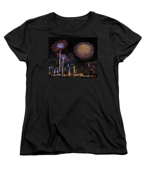 Independence Day Women's T-Shirt (Standard Cut) by Roman Kurywczak