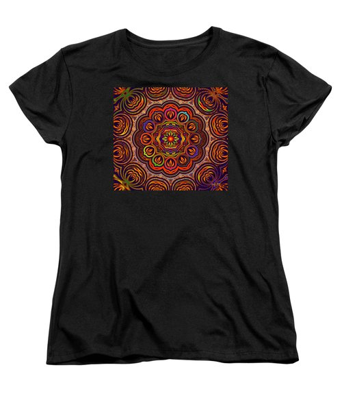 Indian Summer Women's T-Shirt (Standard Cut) by Robert Orinski