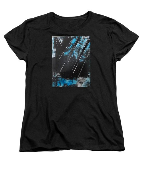 Women's T-Shirt (Standard Cut) featuring the painting Inner Flight by Sharyn Winters