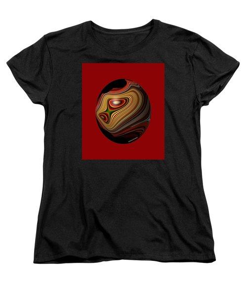 Inner Galaxy Women's T-Shirt (Standard Cut) by Thibault Toussaint