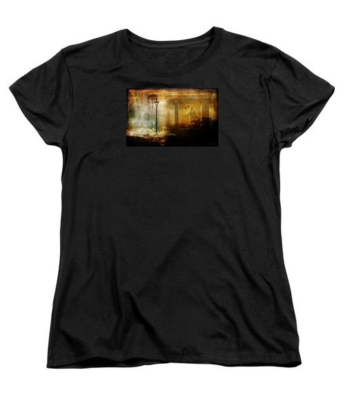 Women's T-Shirt (Standard Cut) featuring the photograph Inside Where It's Warm by Bellesouth Studio