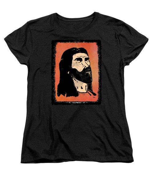Women's T-Shirt (Standard Cut) featuring the digital art Inspirational - The Master by Glenn McCarthy Art and Photography