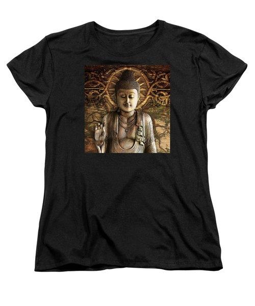 Intentional Bliss Women's T-Shirt (Standard Cut) by Christopher Beikmann