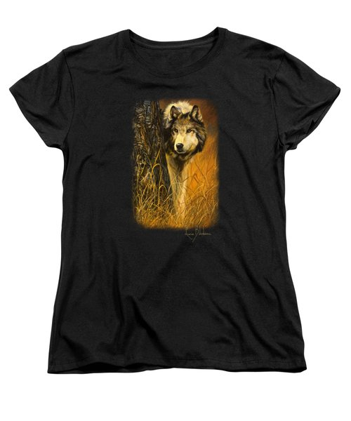 Interested Women's T-Shirt (Standard Cut) by Lucie Bilodeau