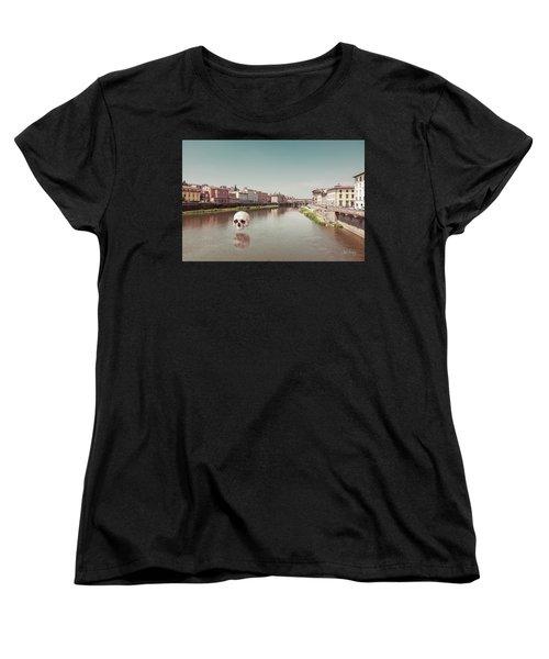 Women's T-Shirt (Standard Cut) featuring the photograph Interloping, Florence by Joseph Westrupp