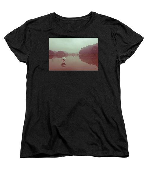 Women's T-Shirt (Standard Cut) featuring the photograph Interloping, Vietnam by Joseph Westrupp
