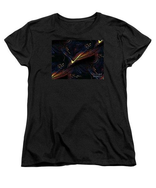 Meditative Vision Women's T-Shirt (Standard Cut) by Yul Olaivar