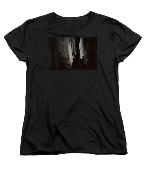 Into The Dark  Women's T-Shirt (Standard Cut) by Nadalyn Larsen