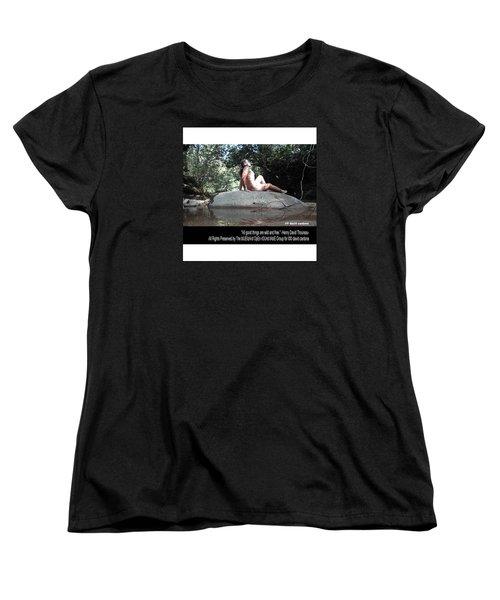 Into The Wild Women's T-Shirt (Standard Cut) by David Cardona