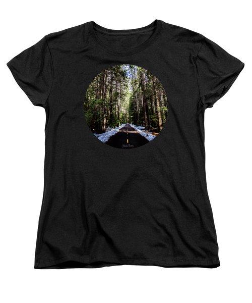 Into The Woods Women's T-Shirt (Standard Cut) by Adam Morsa