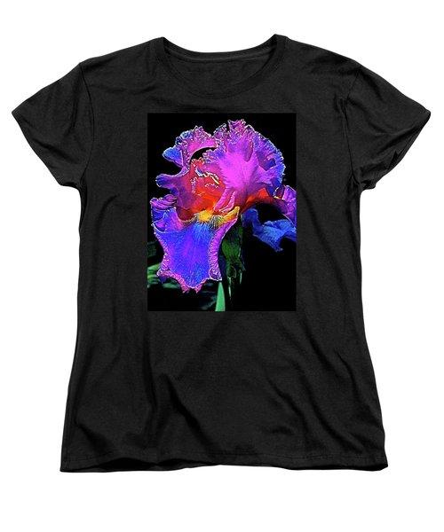 Iris 3 Women's T-Shirt (Standard Cut) by Pamela Cooper