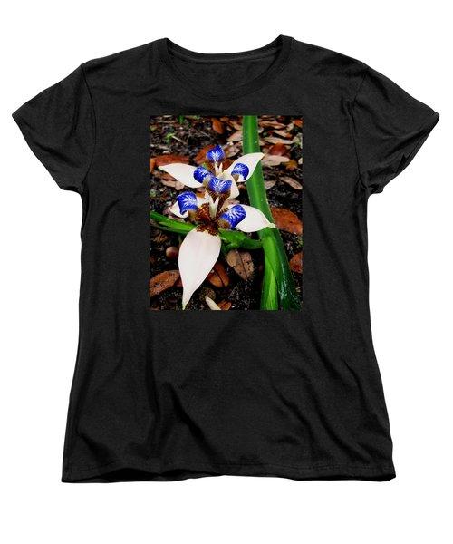 Iris Women's T-Shirt (Standard Cut) by Angela Murray