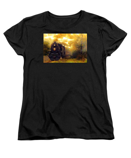 Women's T-Shirt (Standard Cut) featuring the photograph Iron Horse by Aaron Berg
