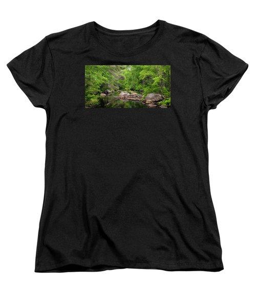 Isinglass River, Barrington, Nh Women's T-Shirt (Standard Cut) by Betty Denise