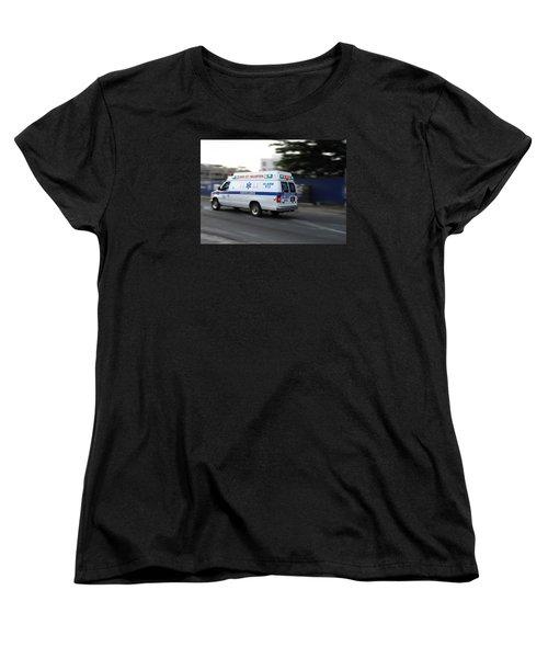 Island Ambulance Women's T-Shirt (Standard Cut) by RKAB Works