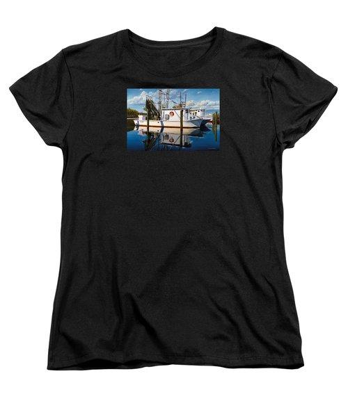 Island Girl Women's T-Shirt (Standard Cut) by Rick McKinney