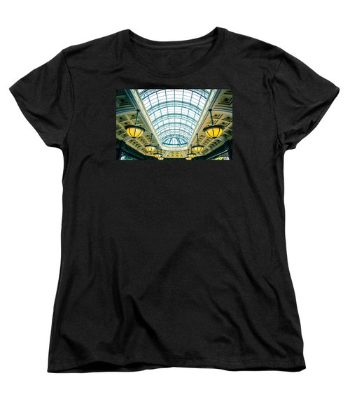 Women's T-Shirt (Standard Cut) featuring the photograph Italian Skylight by Bobby Villapando