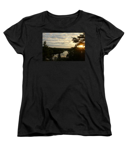 Women's T-Shirt (Standard Cut) featuring the photograph It's A Beautiful Morning by Debbie Oppermann