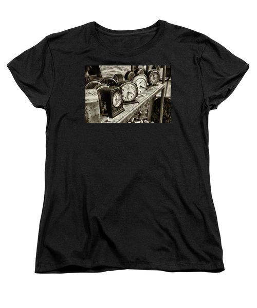 It's About Time Women's T-Shirt (Standard Cut) by John Hoey