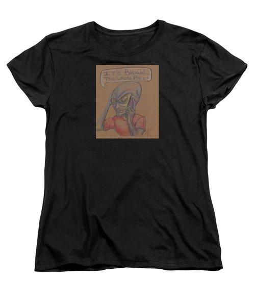 It's Brown Women's T-Shirt (Standard Cut)