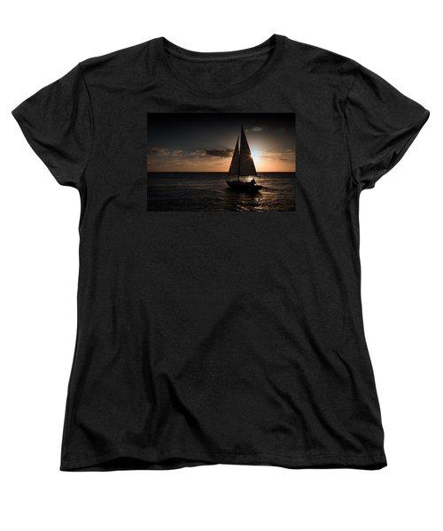 It's Not Far To Never-never Land Women's T-Shirt (Standard Cut) by Yvette Van Teeffelen