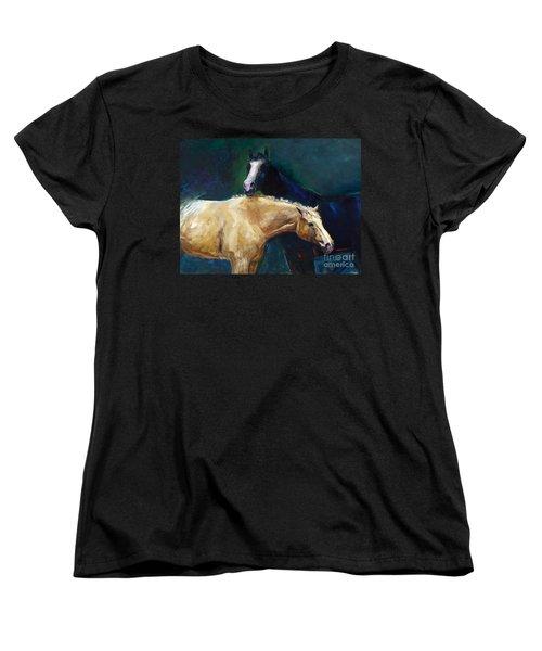 I've Got Your Back Women's T-Shirt (Standard Cut) by Frances Marino