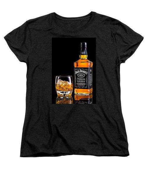 Jack Daniel's Women's T-Shirt (Standard Cut) by Mihai Andritoiu