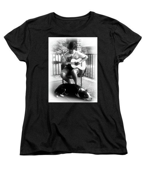 Jackson Bw Women's T-Shirt (Standard Cut) by Patricia L Davidson
