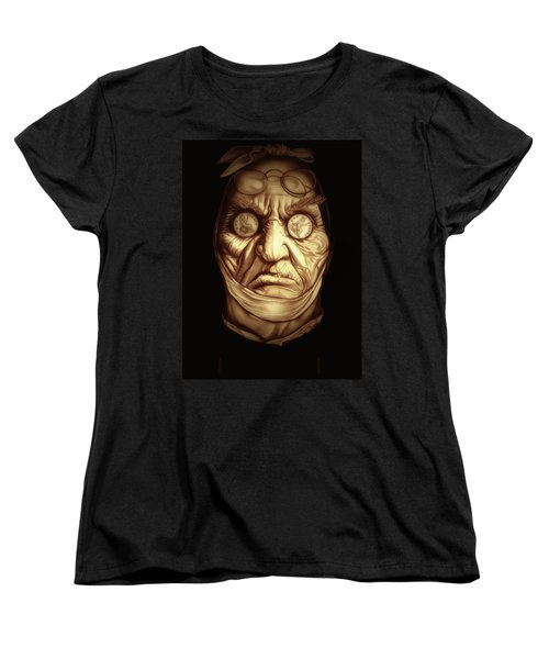 Jacob Marley Women's T-Shirt (Standard Cut) by Fred Larucci
