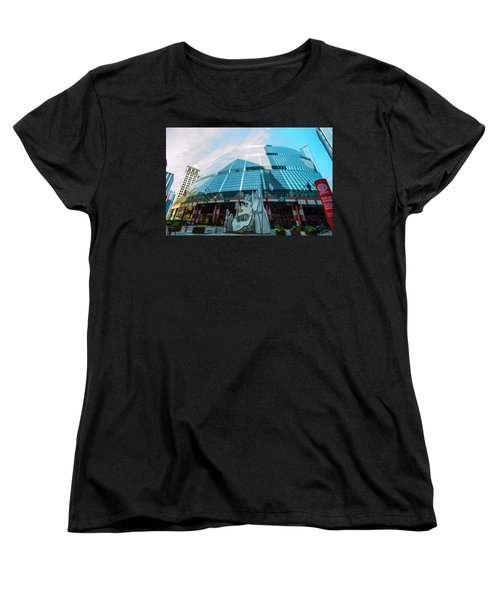 James R. Thompson Center Chicago Women's T-Shirt (Standard Cut) by Deborah Smolinske