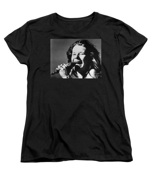 Janis Joplin (1943-1970) Women's T-Shirt (Standard Cut) by Granger