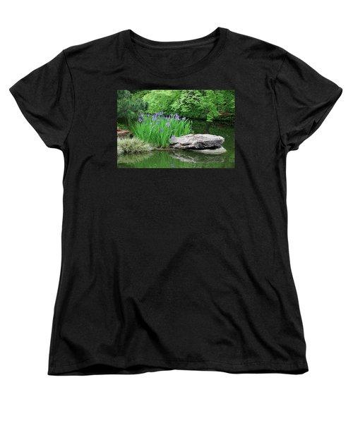 Japanese Gardens - Spring 02 Women's T-Shirt (Standard Cut) by Pamela Critchlow