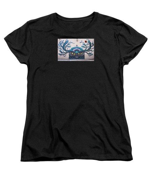 Jeff Soto Mural Women's T-Shirt (Standard Cut) by Jean Haynes