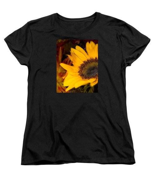 Women's T-Shirt (Standard Cut) featuring the photograph Jeweled by Arlene Carmel