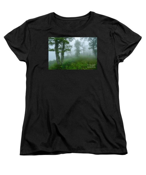 Women's T-Shirt (Standard Cut) featuring the photograph Jewell Hollow Overlook by Thomas R Fletcher