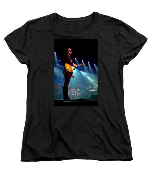 Joe Bonamassa 2 Women's T-Shirt (Standard Cut) by Peter Chilelli