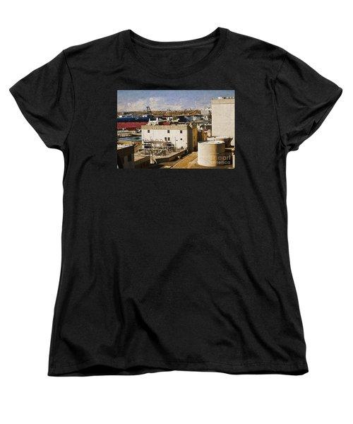 Jones Island Women's T-Shirt (Standard Cut) by David Blank