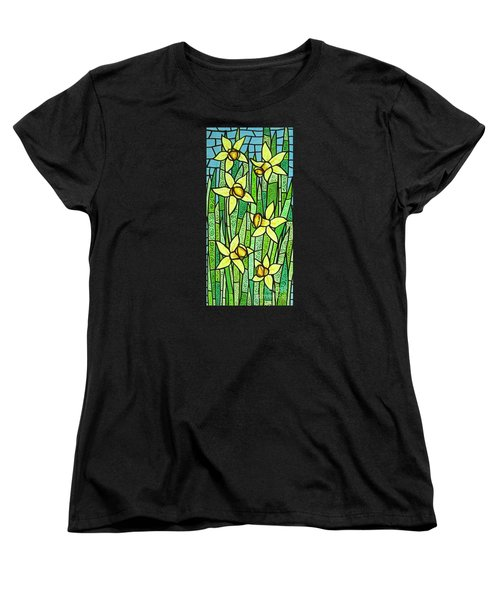 Jonquil Glory Women's T-Shirt (Standard Cut) by Jim Harris
