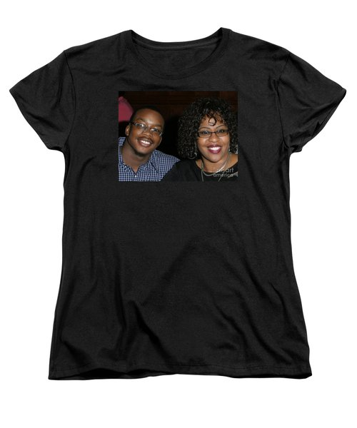 Josh And His Mom Women's T-Shirt (Standard Cut) by Angela L Walker