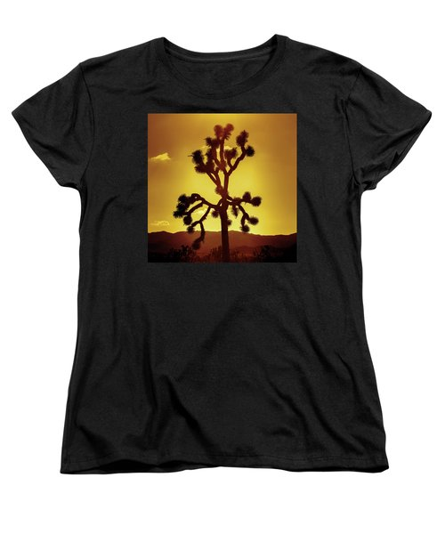 Women's T-Shirt (Standard Cut) featuring the photograph Joshua Tree by Stephen Stookey
