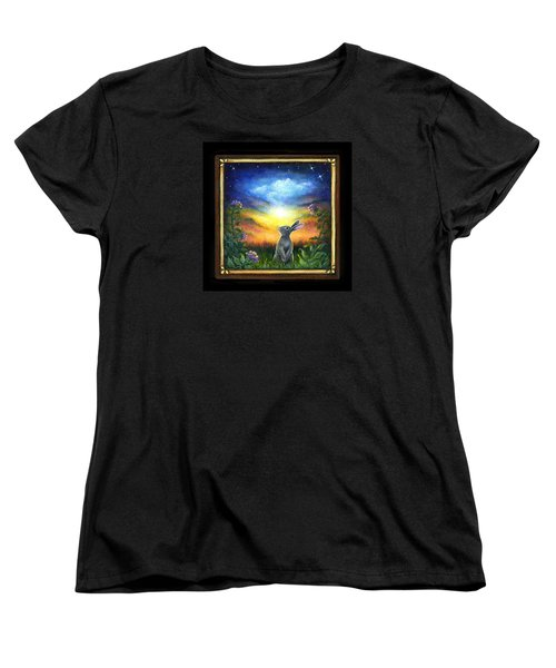 Joy Comes In The Morning Women's T-Shirt (Standard Cut) by Retta Stephenson