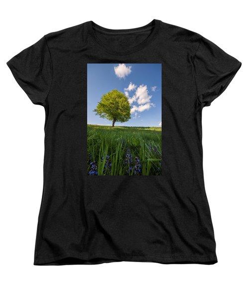 Women's T-Shirt (Standard Cut) featuring the photograph Joy by Davorin Mance