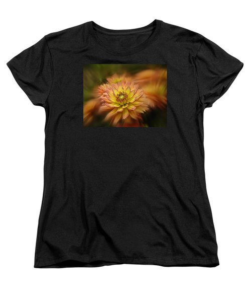 Juiy 2016 Dahlia Women's T-Shirt (Standard Cut) by Richard Cummings