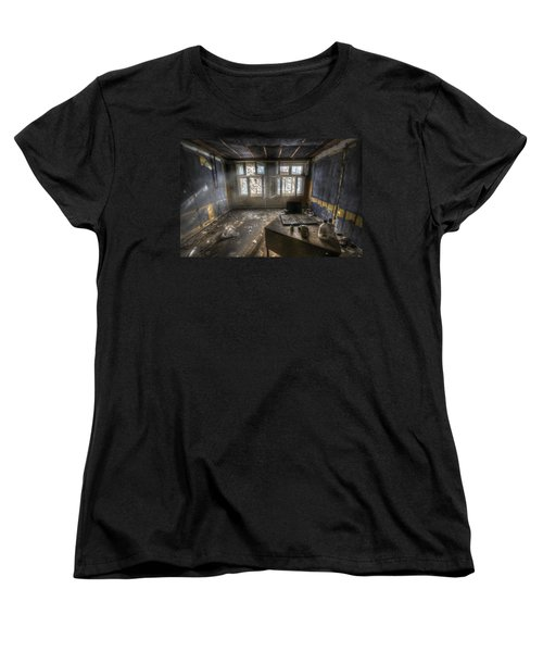 Just Another Day In The Office Women's T-Shirt (Standard Cut) by Nathan Wright