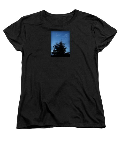 Just Before Sunrise Women's T-Shirt (Standard Cut) by Robin Regan
